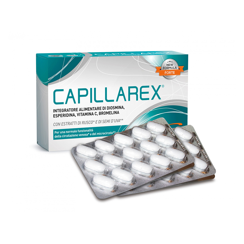 Capillarex 30 Δισκία 1100mg