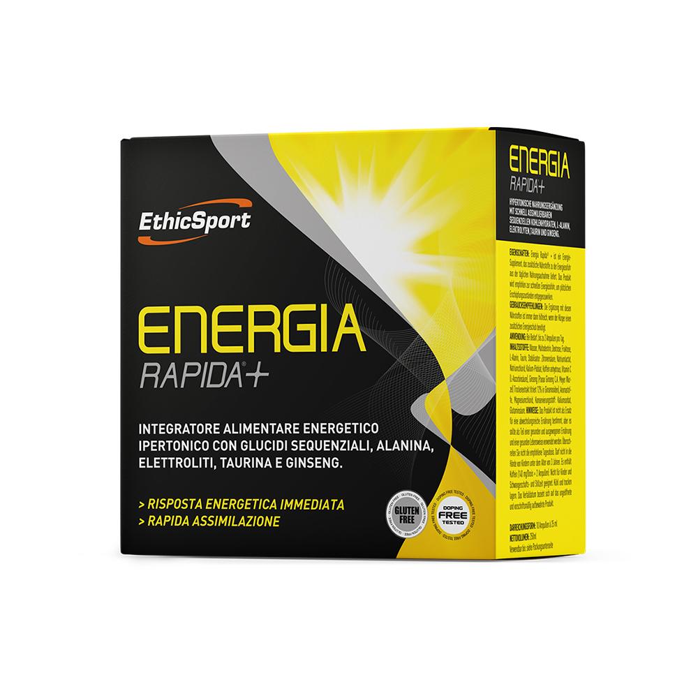 Energia Rapida + 10 Φιαλίδια 25ml Υγρό