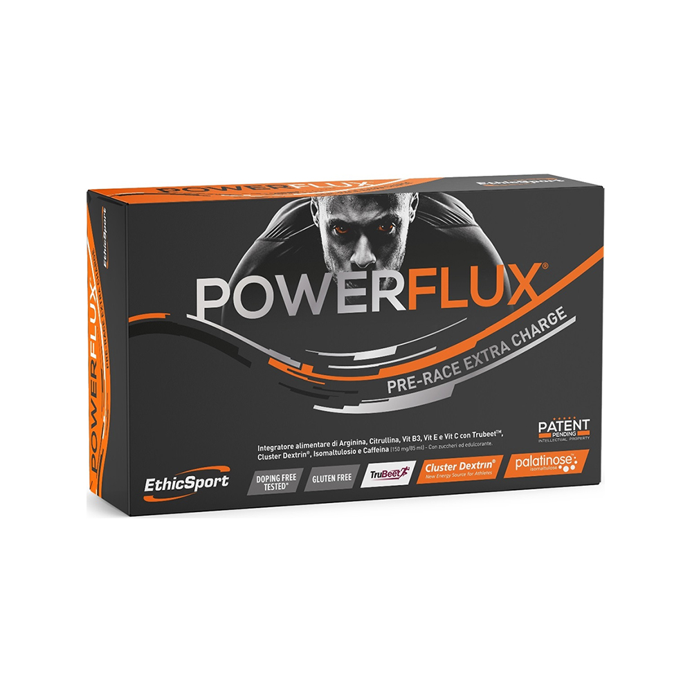 Powerflux Pre-Race Extra Charge 5 Φιαλίδια 85ml Υγρό