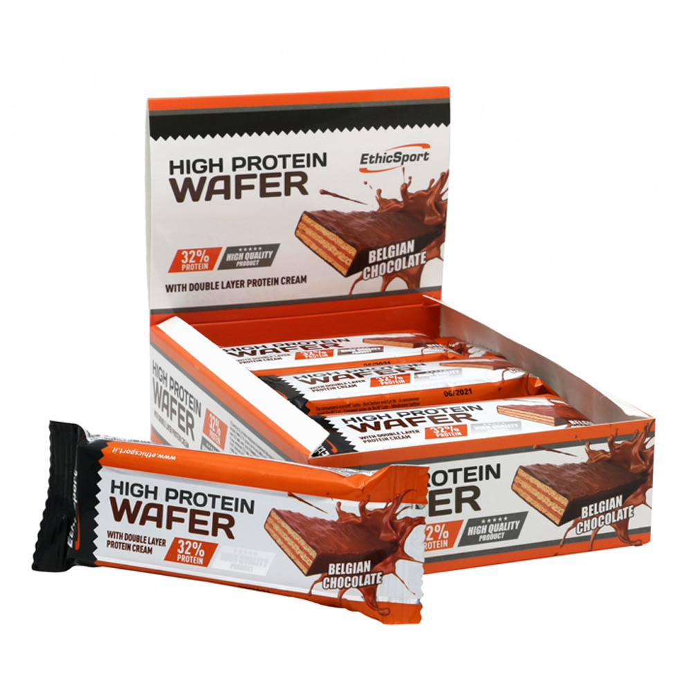 Protein Wafer-Belgian Chocolate 35gr