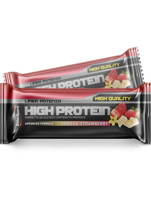 High Protein Vanilla Strawberry 55gr