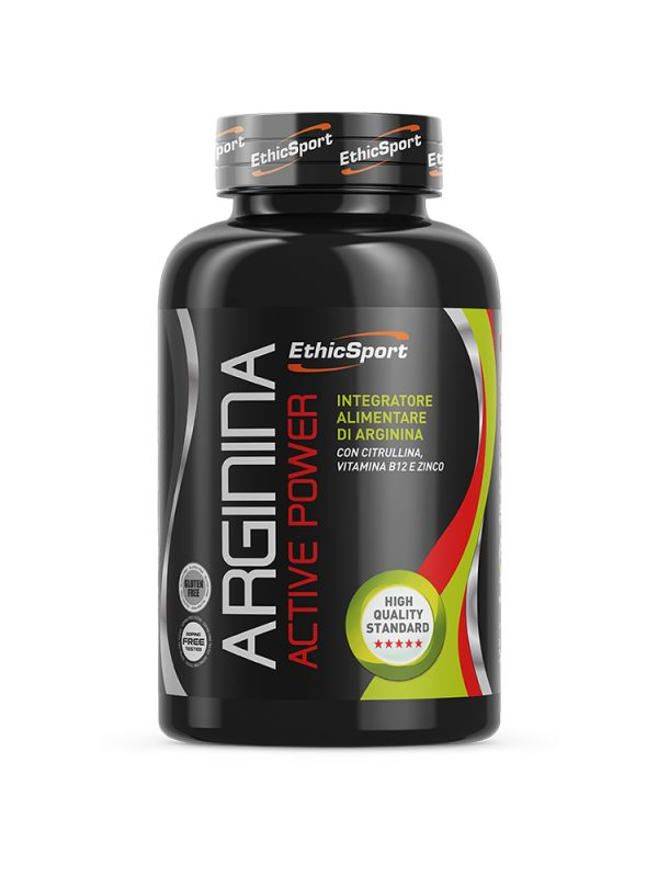 Arginina Active Power 90 Δισκία 1500mg